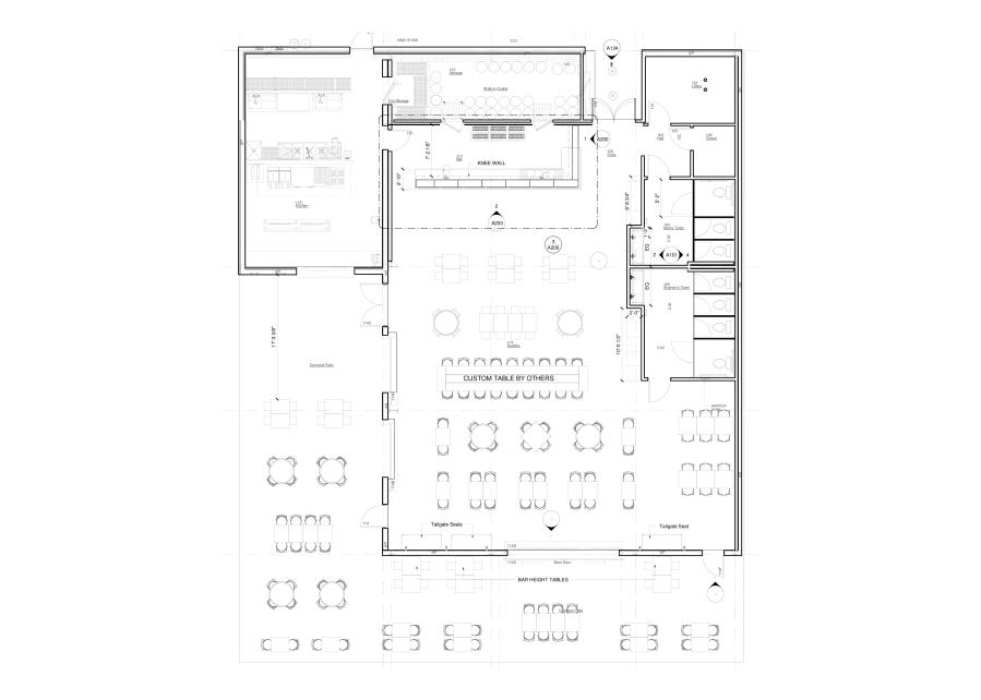 County Fare floor plan